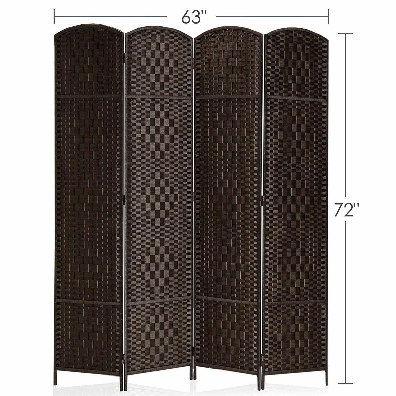 Room Divider Privacy Folding Screen Durable Movable Partitio