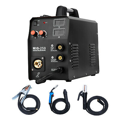Hzxvogen 220v Mig Welder Igbt Lift Tig Gas Gasless Stick Arc Mma Welding Machine