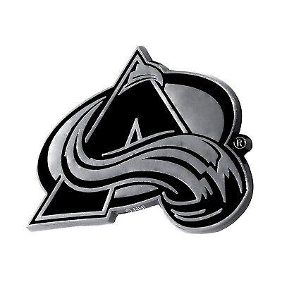 Colorado Avalanche Premium Solid Metal Chrome Auto Emblem Ra