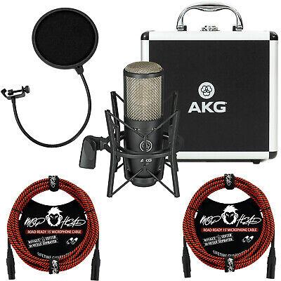 project studio p220 large diaphragm condenser microphone