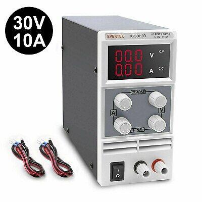 Eventek Kps3010d Adjustable Regulated Switching Dc Power Supply 0-30 V 0-10 A