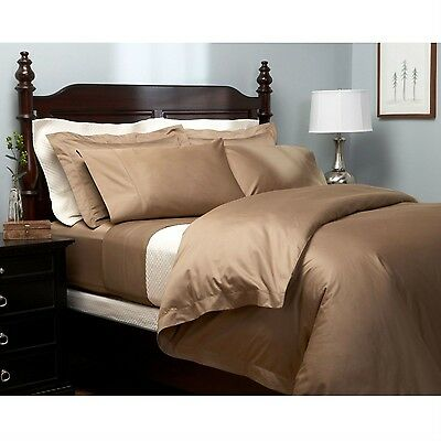 - Brand New 100% Egyptian Cotton  4 Pc California King  Bed Sheet Set in Chestnut