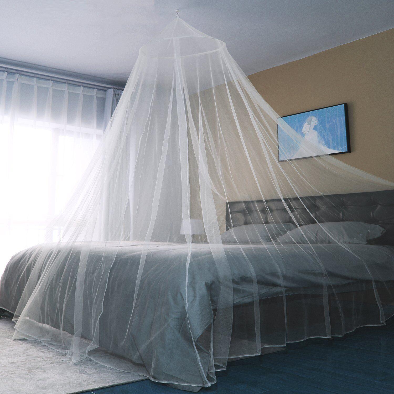 Moskitonetz Betthimmel Mückennetz 2,5 m Länge x 12 m Umfang Fliegengitter XXL