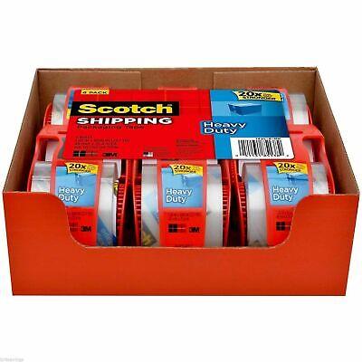 Scotch Shipping Packing Tape Dispenser 3m 2 X 70019.4 Yards Heavy Duty-6