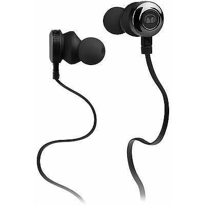 Brand New Monster Clarity HD In Ear Headphones Black In-Line Control Talk Mic