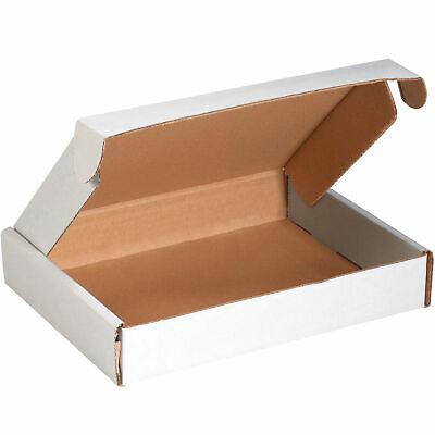 11-18 X 8-34 X 2 Corrugated Tab Lock Literature Mailers Ect-32 White Lot