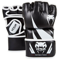 Venum Mma Challenge Mma Fight Gloves Black/wh Martial Arts Ufc Sparring Training - venum - ebay.co.uk