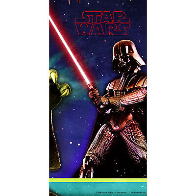 Star Wars Party Supplies TABLECOVER Birthday Decoration Tablecloth Darth Vader *