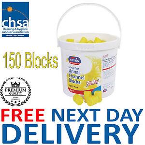 150 Blocks Jeyes Sanilav Urinal Channel Blocks Citrus 3kg FREE NEXT DAY DELIVERY