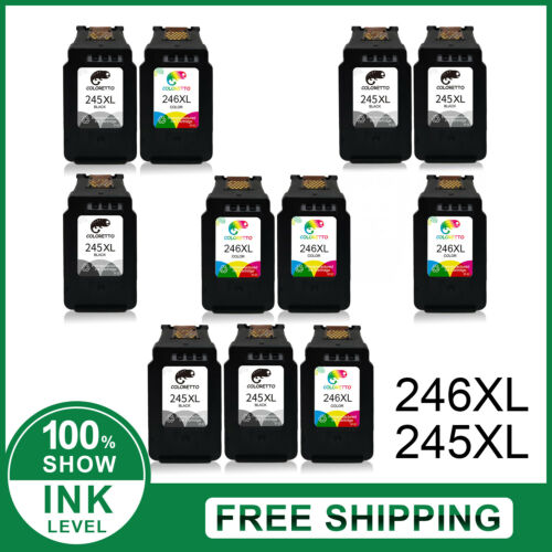 PG-245XL CL-246XL PG-243 CL-244 Ink Cartridges For Canon 245