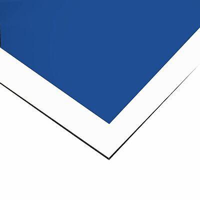 Chevron Bluewhite Painted Aluminum Sheet 0.040 X 24 X 36