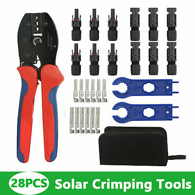 Solar Crimping Tool For Solar Panel Pv Cable For Mc4 Male Female Solar Connector