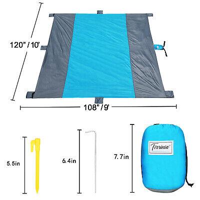 Sandfree Beach Blanket Extra Large Foldable Waterproof Picni