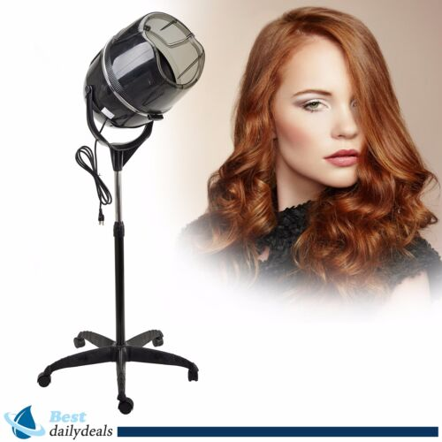 Stand Up Hair Dryer Timer Swivel Hood Caster