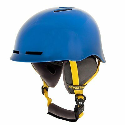 Shred Ready Forty4 Snow Sport Helmet, Electric Blue, Medium