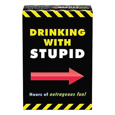 Drinking With Stupid Card Game - Hours of Outrageous Fun for Any Adult Party  - Adults Games