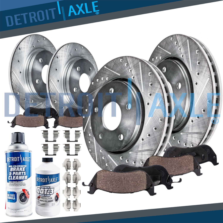 Rotors w//Metallic Pad OE Brakes Fits: 2011-2015 Optima 2.0 Front