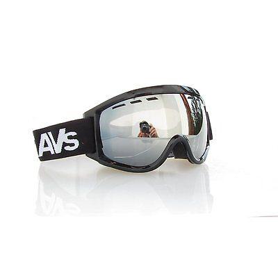 ravs Occhialini da sci - snowboard - SKI ALPIN GOGGLE grande finestra ANTIFOG