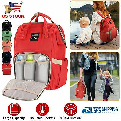 Mummy Maternity Nappy Diaper Bag Large Capacity Baby Bag Travel Backpack   Diaper Baby Bag Purse