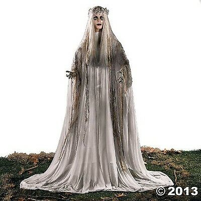 Lifesize Haunting Bewitching Beauty Gruesome Standing Ghost Girl Bride NEW