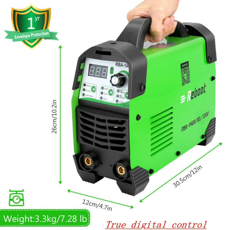 ARC 140 Welder Dual Voltage 110V/220V DC Inverter Digital Welding Machine USA