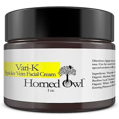 Spider Vein Face Cream Helps Clear Bruises  Redness  Rosacea  3  Vitamin K