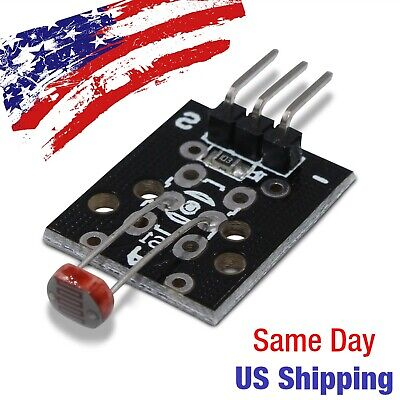 Photosensitive Photoresistor Light Detector Module Resistor Arduino Pic Avr Usa