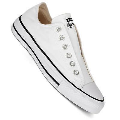 Converse CTAS Slip On Chucks für Damen white/black/white (Slip On Converse Weiss)