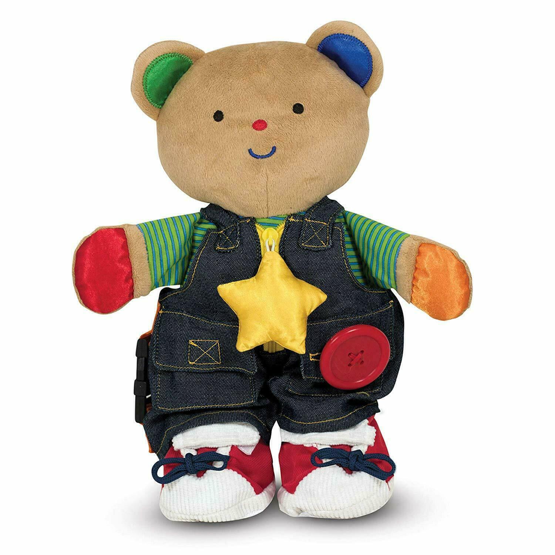 Melissa & Doug K's Kids - Teddy Wear Stuffed Bear Educationa