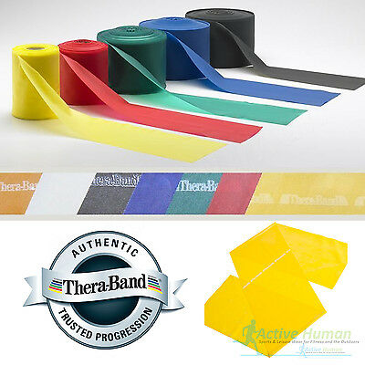 Thera Band Resistance Exercise Bands (Theraband Resistance Bands Exercise Fitness Physio Thera Band Strips Catapult)