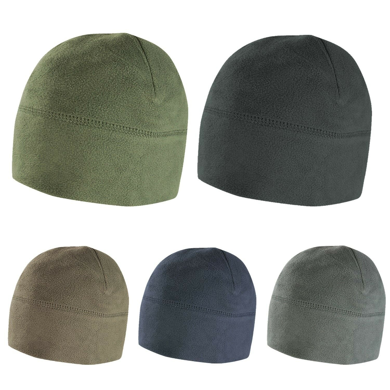 Condor Tactical Military Micro Fleece Beanie Cold Weather Winter Hat Watch  Caps 3043e5745f5e