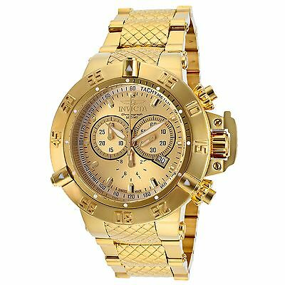 Invicta 14500 Men's Subaqua Gold-Tone Quartz Watch