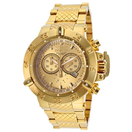 $264.88 - Invicta 14500 Men's Subaqua Gold-Tone Quartz Watch