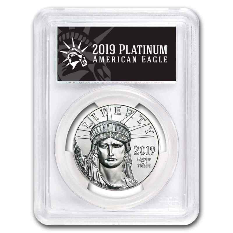 2019 1 oz Platinum American Eagle MS-70 PCGS (FS, Black Label) - SKU#171854