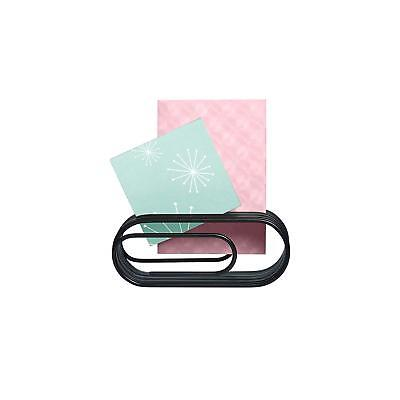Design Ideas Black Clip Note Giant Paper Clip Shaped Office Organizer 3201034