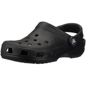 Mens-Black-Classic-Croc