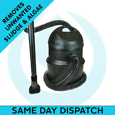 Swell UK Pond Sludge Vacuum Vac Cleaner Silt Hoover Water Algae Remove