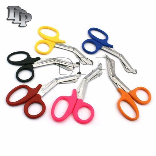 "6 Pc Nurse Medical Scissors EMT 5.5"" Utility Bandage Shears Paramedic Emergency"