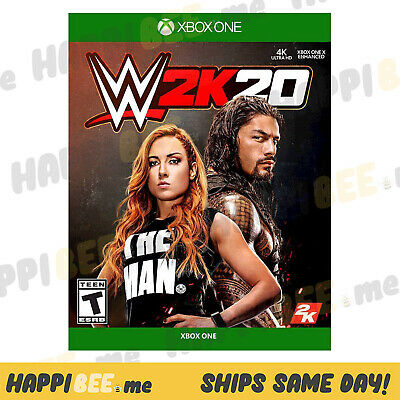 WWE 2K20 (XBOX ONE 1)🍯Wrestling 2020 Series X Video GAME Console TNT [NEW]