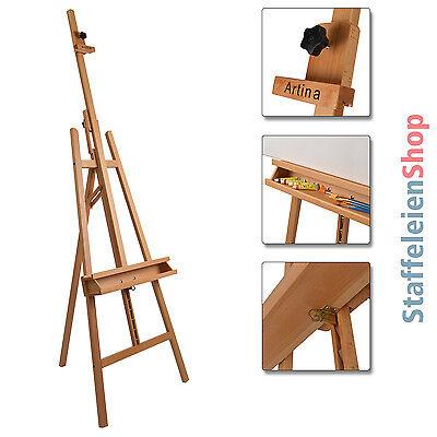 Staffelei Buche Akademiestaffelei Atelierstaffelei Standstaffelei Holzstaffelei