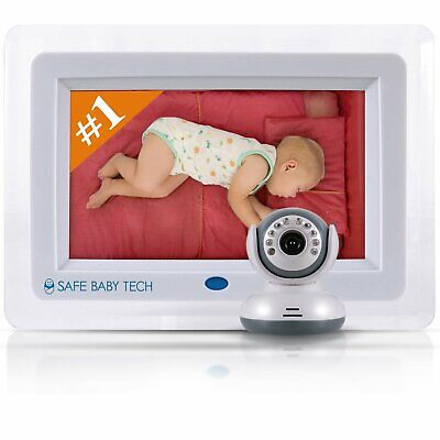 Best Wireless Video Baby Monitor with Night Vision (HUGE 7