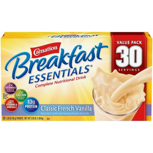 Carnation Breakfast Essentials Nutritional Drink - Vanilla(30 ct.)
