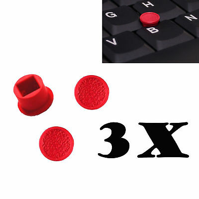 3x Trackpoint Cap Soft Rim Mouse Pointer for Lenovo IBM T410 T420 T430 T510 T520