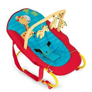 Baby Bouncer Rocker Chair Hauck Bungee Deluxe Jungle Fun, Birth to 6 months