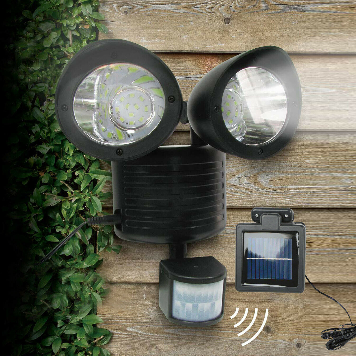 22 LED Dual Security Detector Solar Spot Light Motion Sensor