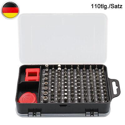 110 In 1Torx Feinmechanik Mini Werkzeug Set Schraubenzieher Elektronik Uhrmacher
