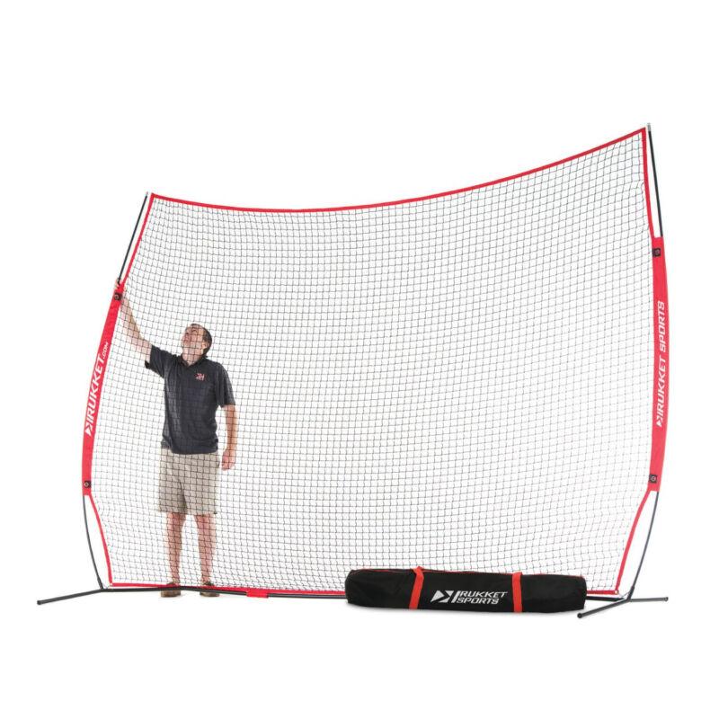 Rukket Sports Universal Multi-Sport Barrier Protective Backstop Net, 12 x 9 Feet