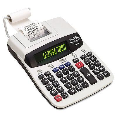 Victor 1310 Big Print Commercial Thermal Printing Calculator Black Print 6 (Thermal Printing Calculator)