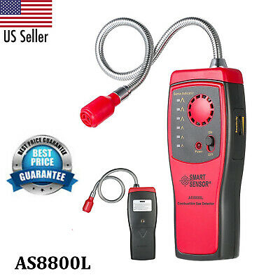 Smart Sensor As8800l Combustible Gas Detector Gas Leakage Determine Tester