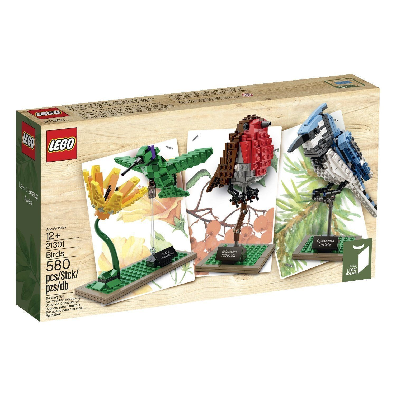 JANUARY 2015 LEGO CUUSOO / IDEAS 21301 BIRDS *NIB, ON HAND,